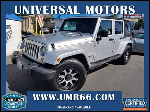 2007 Jeep Wrangler Unlimited for sale in Glendora, CA