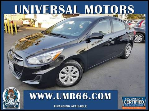 2016 Hyundai Accent for sale in Glendora, CA