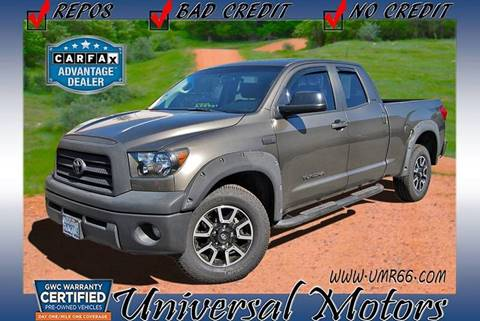 2007 Toyota Tundra for sale at Universal Motors in Glendora CA