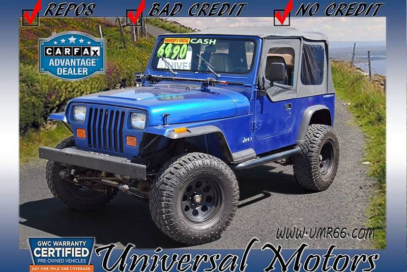 1995 Jeep Wrangler S 2dr 4WD SUV