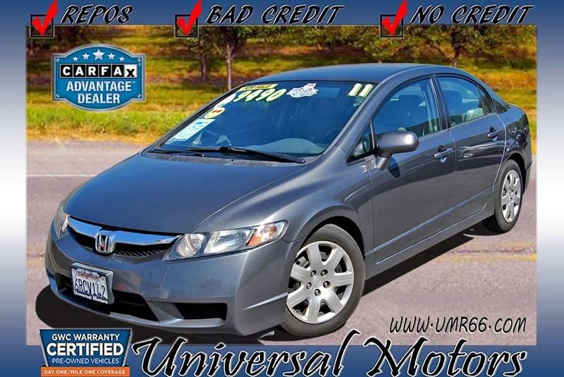 2011 Honda Civic For Sale At Universal Motors In Glendora CA