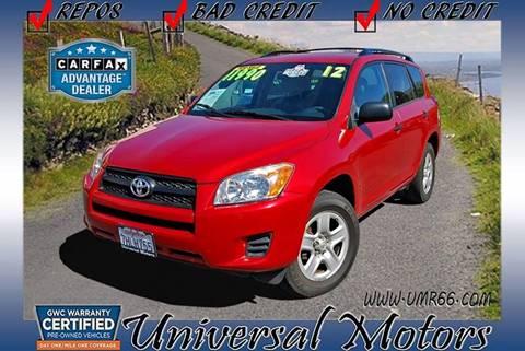 2012 Toyota RAV4 for sale at Universal Motors in Glendora CA