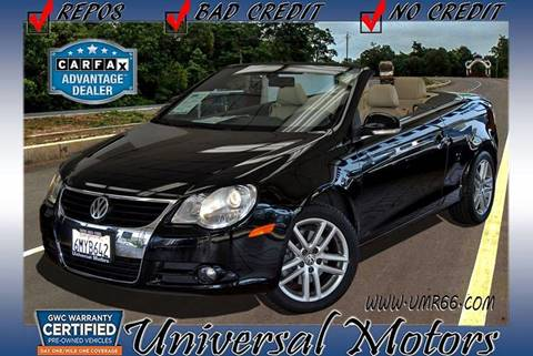 2008 Volkswagen Eos for sale at Universal Motors in Glendora CA