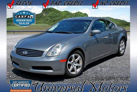 2006 Infiniti G35 for sale at Universal Motors in Glendora CA