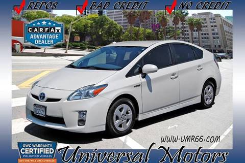 2010 Toyota Prius for sale at Universal Motors in Glendora CA