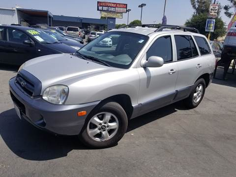 2005 Hyundai Santa Fe for sale at Universal Motors in Glendora CA