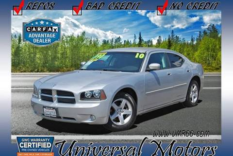 2010 Dodge Charger for sale at Universal Motors in Glendora CA