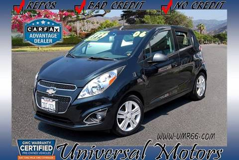 2013 Chevrolet Spark for sale at Universal Motors in Glendora CA