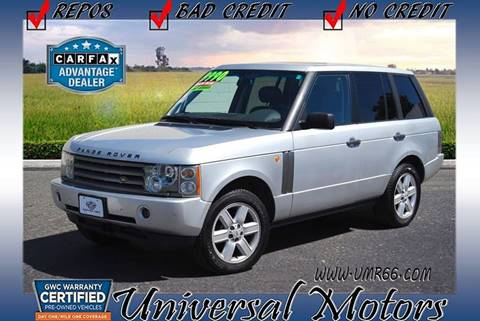 2004 Land Rover Range Rover for sale at Universal Motors in Glendora CA