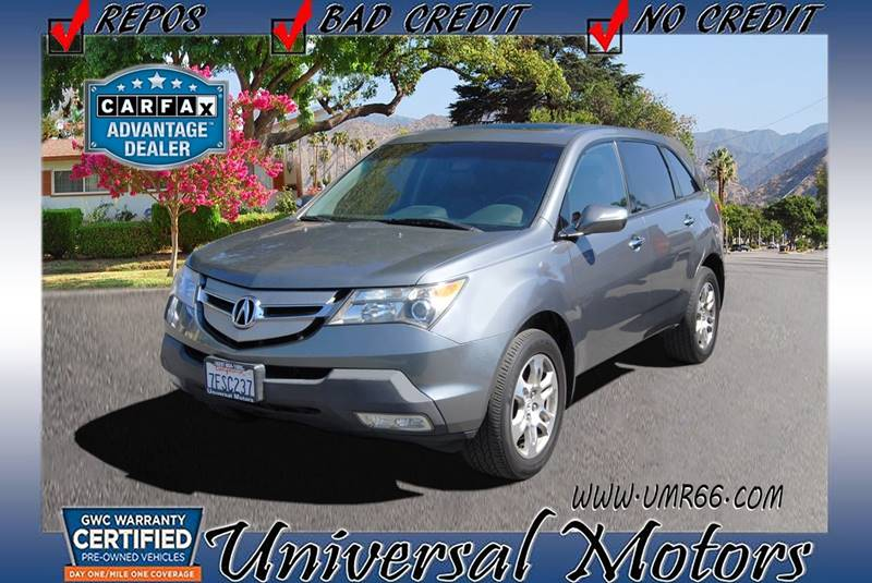 2009 Acura MDX SH AWD Tech Technology Package