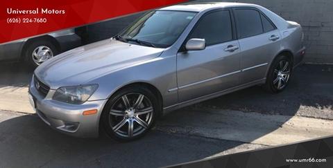 2003 Lexus IS 300 for sale in Glendora, CA