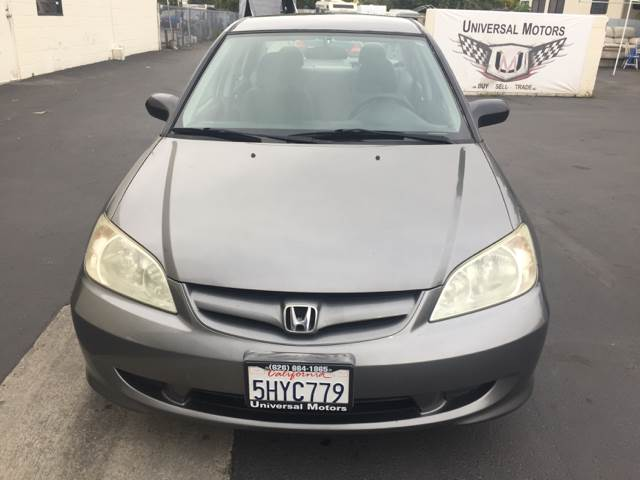 2004 Honda Civic LX 4dr Sedan w/Side Airbags - Glendora CA