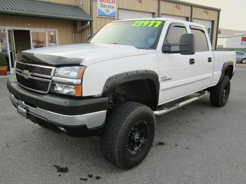 2007 Chevrolet Silverado 2500HD Classic for sale at Global Elite Motors LLC in Wenatchee WA