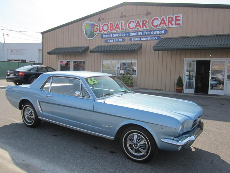 1965 Ford Mustang for sale at Global Elite Motors LLC in Wenatchee WA