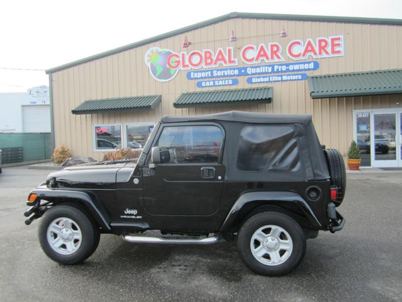 2005 Jeep Wrangler For Sale At Global Elite Motors LLC In Wenatchee WA