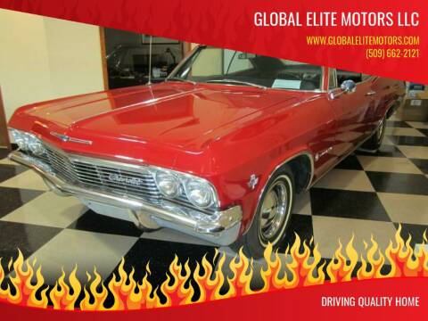 1965 Chevrolet Impala for sale at Global Elite Motors LLC in Wenatchee WA
