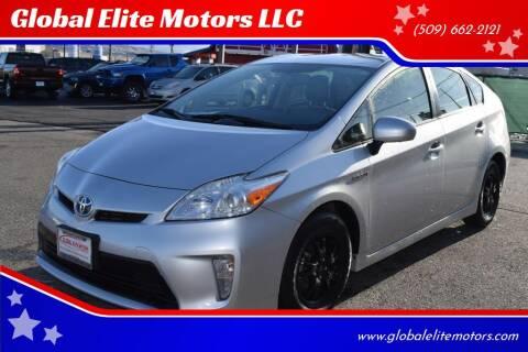 2012 Toyota Prius for sale at Global Elite Motors LLC in Wenatchee WA