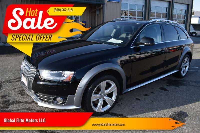 2015 Audi Allroad for sale at Global Elite Motors LLC in Wenatchee WA