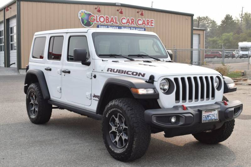 2018 Jeep Wrangler Unlimited for sale at Global Elite Motors LLC in Wenatchee WA