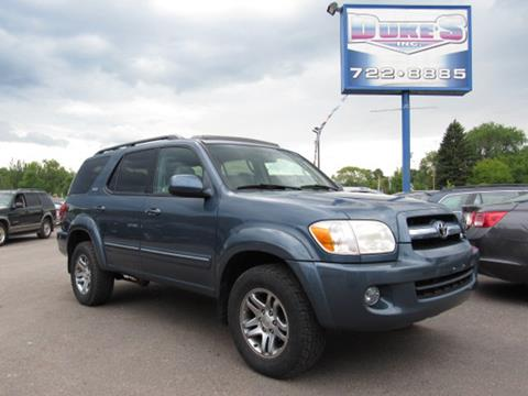 2005 Toyota Sequoia for sale in Duluth, MN