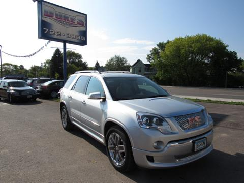 2011 GMC Acadia for sale in Duluth MN