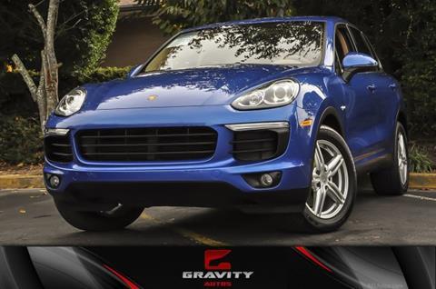 2017 Porsche Cayenne for sale in Atlanta, GA