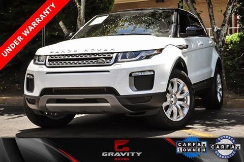 Range Rover Atlanta >> 2016 Land Rover Range Rover Evoque For Sale In Atlanta Ga