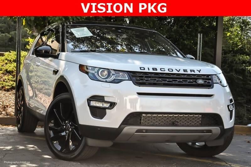 2017 Land Rover Discovery Sport AWD HSE Luxury 4dr SUV - Atlanta GA