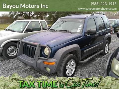 2002 Jeep Liberty for sale in Houma, LA