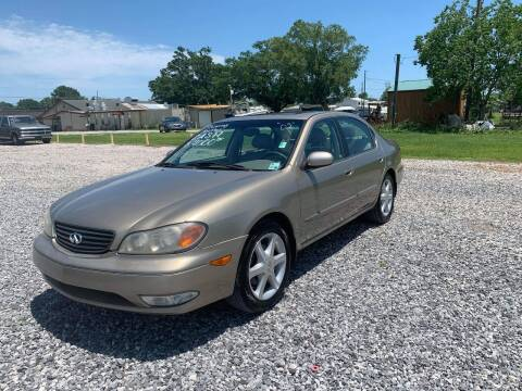 2002 Infiniti I35 for sale at Bayou Motors Inc in Houma LA