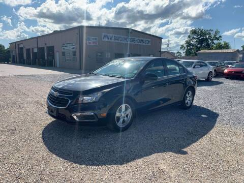 2015 Chevrolet Cruze for sale at Bayou Motors Inc in Houma LA