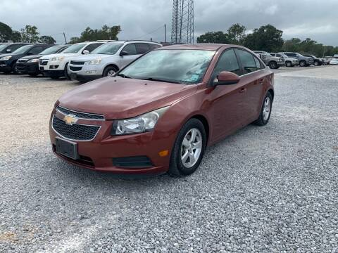2013 Chevrolet Cruze for sale at Bayou Motors Inc in Houma LA