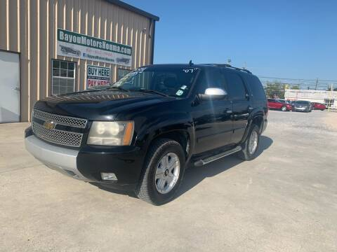 2007 Chevrolet Tahoe for sale at Bayou Motors Inc in Houma LA
