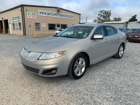 2009 Lincoln MKS for sale at Bayou Motors Inc in Houma LA