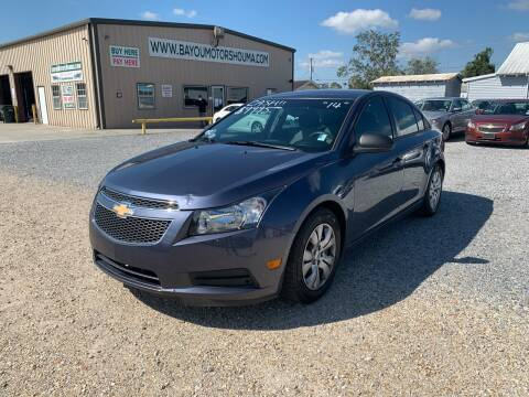2014 Chevrolet Cruze for sale at Bayou Motors Inc in Houma LA