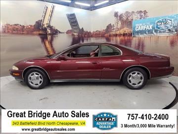 1998 Buick Riviera for sale in Chesapeake, VA