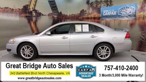 2016 Chevrolet Impala Limited for sale in Chesapeake, VA