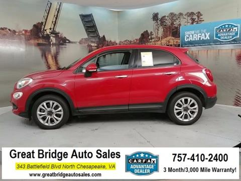 2016 FIAT 500X for sale in Chesapeake, VA