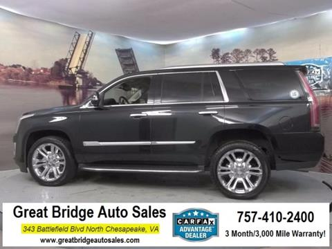 2016 Cadillac Escalade for sale in Chesapeake, VA