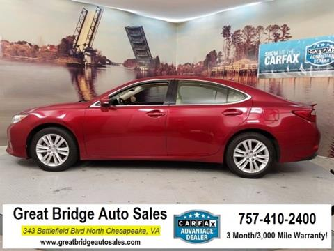 2013 Lexus ES 350 for sale in Chesapeake, VA
