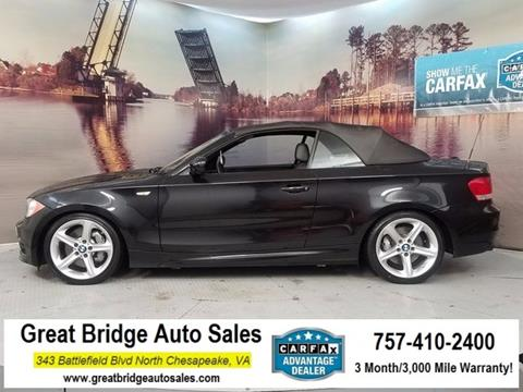 2011 BMW 1 Series for sale in Chesapeake, VA