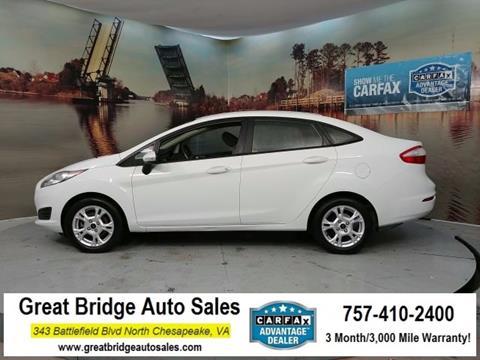2014 Ford Fiesta for sale in Chesapeake, VA