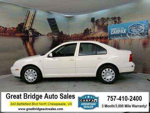 2003 Volkswagen Jetta for sale in Chesapeake, VA
