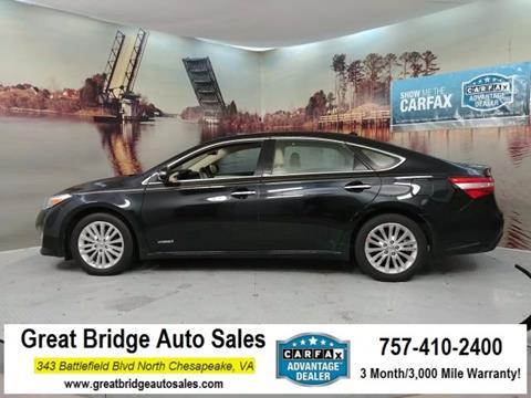 2015 Toyota Avalon Hybrid for sale in Chesapeake, VA