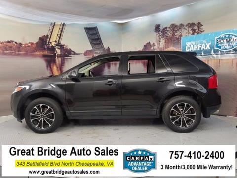 2013 Ford Edge for sale in Chesapeake, VA