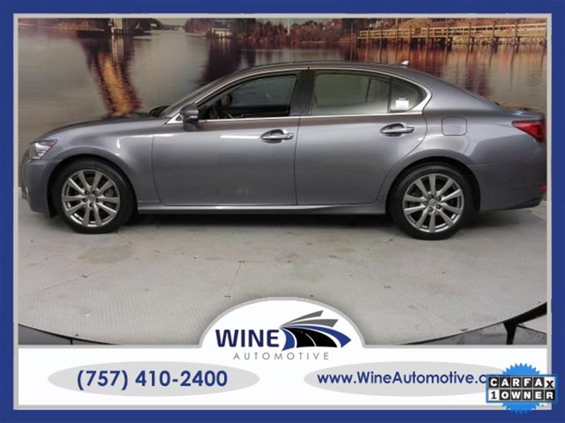 2014 Lexus Gs 350 Awd 4dr Sedan In Chesapeake Va Wine Automotive