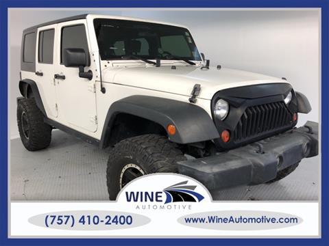 2009 Jeep Wrangler Unlimited for sale in Chesapeake, VA