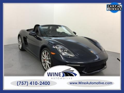 2017 Porsche 718 Boxster for sale in Chesapeake, VA