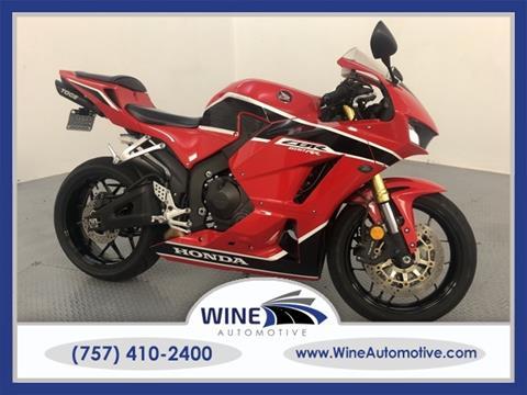2017 Honda CBR600RR for sale in Chesapeake, VA