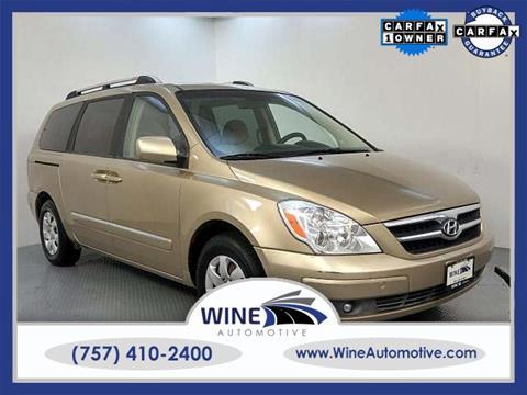 2007 Hyundai Entourage for sale in Chesapeake, VA